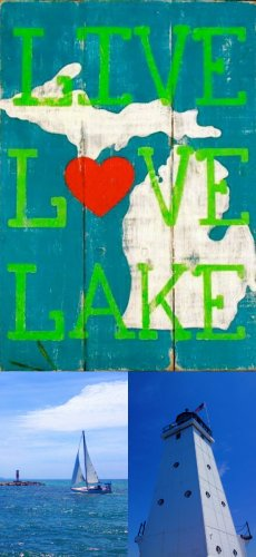 Lake Michigan Collage