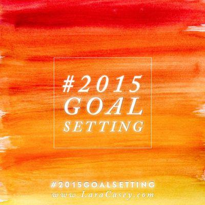 2015 Goal Setting